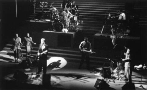 Sting with band 1985-86
